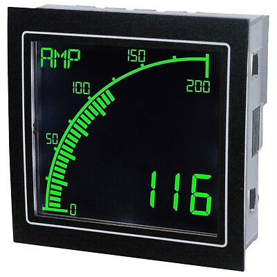Trumeter APM-AMP-ANO APM Ammeter Negative LCD with Outputs