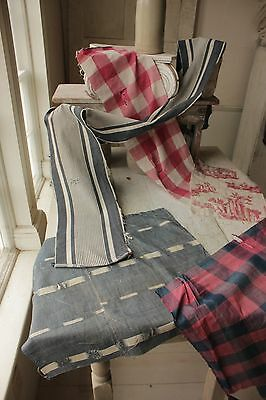 Antique French fabric vintage PROJECT BUNDLE CUTTING PACK sewing quilting