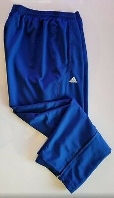 5624abd76 Adidas Mens Big & Tall Royal Blue Modern Basketball Sweatpants Size 3XL