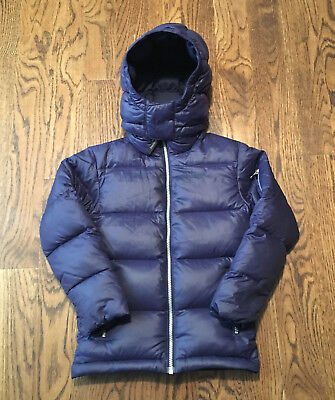 Marmot Stockholm Down Jacket Boys XS 700 Fill Removable Hood  170 Retail f78eba92579e