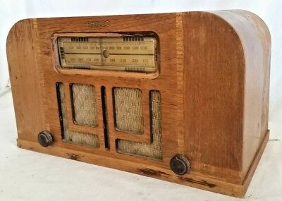 Rare Vintage Philco Tube Radio Old AM Tuner Model 40-95 Battery Operated