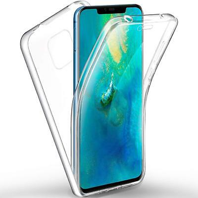 housse etui coque integrale pour mate 20 / 20 pro / 20 lite huawei silicone
