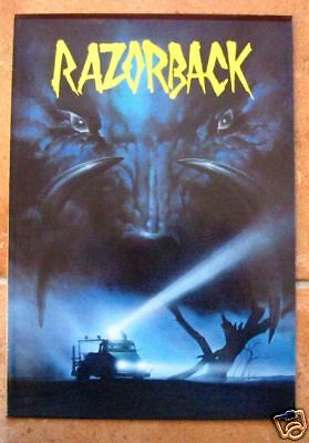 DOSSIER DE PRESSE - RAZORBACK - Gregory HARRISON / Arkie WHITELEY / Bill KERR