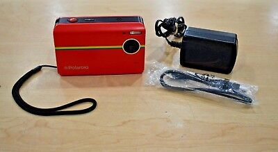 Polaroid Z2300 10.0MP Instant Print Digital Camera - Red Pre-owned Free Shipping