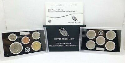 2017-S United States Mint 225th Anniversary Enhanced Uncirculated Coin Set