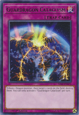 3x (M/NM) Guardragon Cataclysm - SAST-EN073 - Rare - 1st Edition  YuGiOh