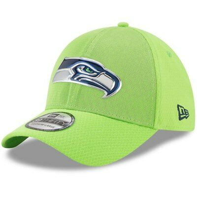 brand new 6e13c ace34 ... denmark seattle seahawks new era 2017 color rush 39thirty flex hat neon  green e7789 1d4a3