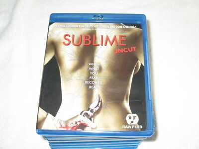 Movie Blu Ray Sublime Uncut Awesome Horror Film Scary