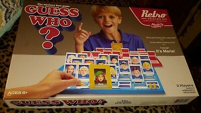 ❤ Toy Kids Guess Who Game Retro Series 1988 Edition Play Gift Christmas Hasbro ❤