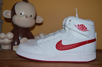f36b491acc6b NEW NIKE AJ1 KO HIGH OG MENS SZ 10.5 11 Sail Varsity Red 638471-102 ...