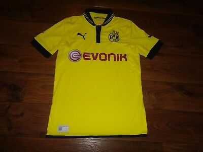 100% authentic 139c4 26e92 NICE PUMA DORTMUND Borussia BVB 2011 2012 Soccer Jersey Adult Medium M NICE!