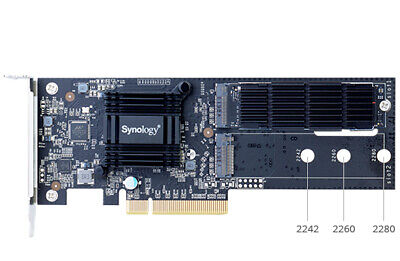 Synology M2D18 interface cards/adapter M.2 Internal