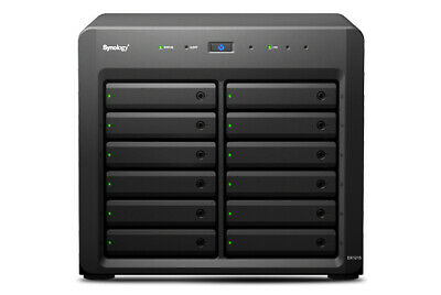 Synology DX1215 disk array Desktop Black