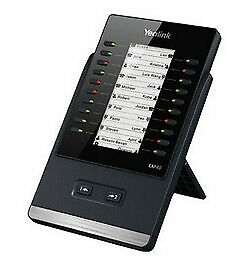Yealink EXP40 IP add-on module 20 buttons Black