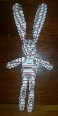 Country Road Striped Bunny Baby Comforter Cotton