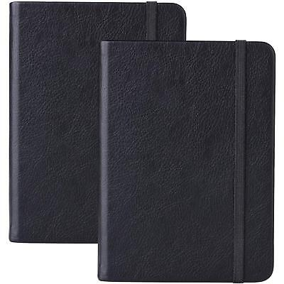 2 Pack Bullet Journal/A6 Dotted Notebook - Premium Thick Paper Executive Hard Co