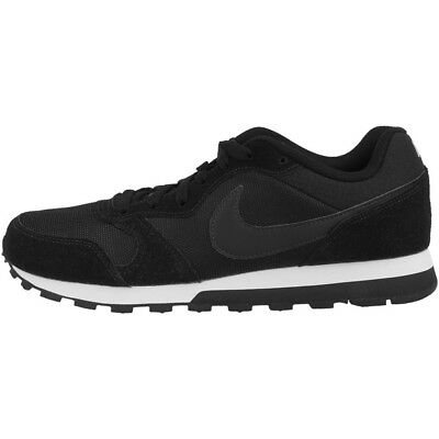 Nike Md Runner 2 Sneaker Corsa Donna Nere Bianche 749869-001 Air Max