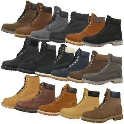 0c1a59e67b Timberland 6 Inch Premium Boots Anniversary Men's Boots Shoes Different  Colors