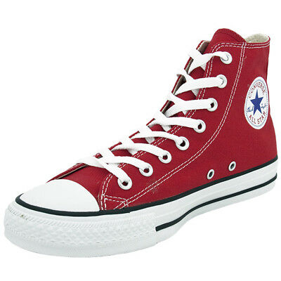 CONVERSE CHUCK TAYLOR All Star Hi Chaussures Rouge M9621C Baskets Montantes