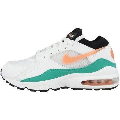 differently e13ec ba523 Nike Air Max 93 Essentiel Baskets Chaussures de Loisirs Pourpre Blanc Bliss