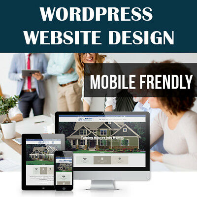Wordpress Website - Custom Website Design - Professional & Mobile Friendly