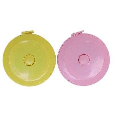 Sewing Tailor Cloth Measuring Ruler Tape Measure 150cm Yellow Pink C8Z1 GT DZ TJ