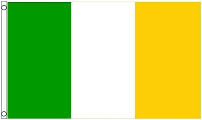 Ireland Offaly County Gaelic Games Colours 5'x3' Flag LAST ONE