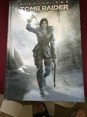 Rise of the Tomb Raider Collector's Edition Guide Hardcover  2015 VERY GOOD