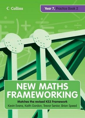 New maths frameworking Year 7: matches the revised KS3 framework by Kevin Evans