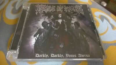 Cradle Of Filth. Darkly, Darkly, Venus Aversa CD EX. Angtoria, Blood Divine