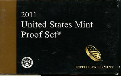 Uncirculated 2011 S United States Mint Proof Set w/CoA ME759