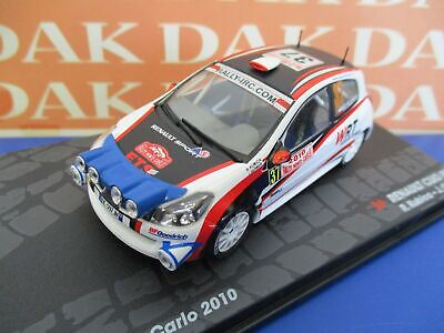 Die cast 1/43 Modellino Auto Renault Clio R3 N37 Rally Monte Carlo 2010 R.Kubica