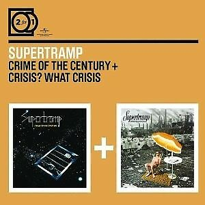 2 For 1: Crime Of The Century/Crisis? What Crisis? - SUPERTRAMP [2x CD]