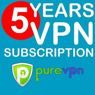 PureVPN 5 Years Subscription✅ Best VPN Service✅ All Compatible✅ Genuine License✅