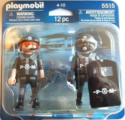 Verbazingwekkend PLAYMOBIL POLICE SWAT team 4218 with extra escaped criminal, ball IG-85