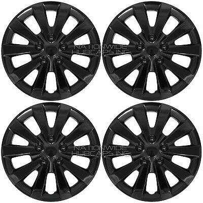 4 New Wheel Covers For 2002 2018 Nissan Altima 16 Snap On Full Rim