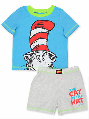 Dr. Seuss The Cat in the Hat Toddler Boys 2 piece Shorts Pajamas Set K183974SE