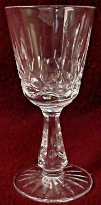 WATERFORD crystal ROSSLARE pattern water Goblet