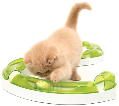Cat it Senses 2.0 Play Circuit de Jeu pour chat avec balle contre l'ennui fun