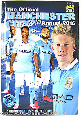 The official manchester city annual 2016