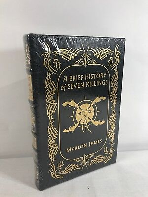Easton Press A Brief History Of Seven Killings Signed Edition Leather Bound Book
