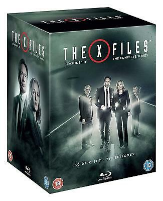 THE X-FILES 1-11 1993-2018 COMPLETE Mulder+Scully TV Season Series RgB BLU-RAY