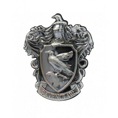 Harry Potter House of Ravenclaw Crest Logo Pewter Metal Lapel Pin NEW UNUSED
