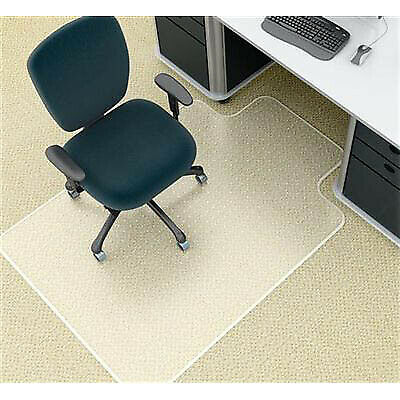 Marbig Chairmat Deluxe Large With Keyhole 1140 X 1340Mm