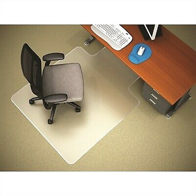 Marbig Chairmat Antistatic Small With Keyhole 910 X 1210Mm