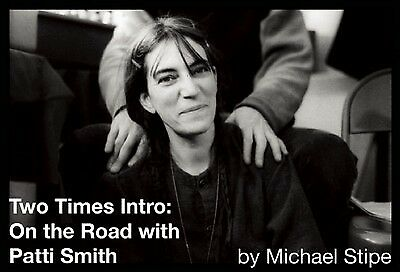 2 x intro: on the road with Patti Smith by Michael Stipe (Hardback)
