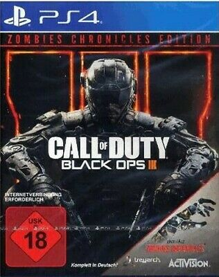 PS4 game - Call of Duty: Black Ops III #Zombies Chronicles Edition NEW & BOXED
