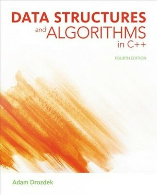 Data Structures and Algorithms in C++, Hardcover by Drozdek, Adam, ISBN 11336...