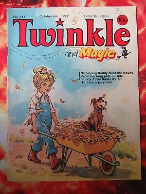 Twinkle  Comic No. 611. 6 October 1979. Fn+ Puzzles Not Done