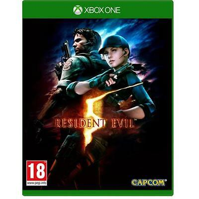 Resident Evil 5 HD Remake XBox One X S BRAND NEW Game SEALED